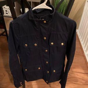 Jcrew utility jacket - navy